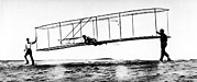 No 3 Prints - The Modified No. 3 Glider 1902 Print by Everett