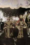 Gold Crown Framed Prints - The Monarchs Haile Selassie The First Framed Print by W. Robert Moore