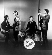 The Monkees, L-r Davy Jones, Peter Print by Everett