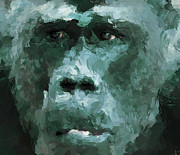 Monkey Digital Art - The Monkey by Yury Malkov