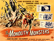 1957 Movies Photo Prints - The Monolith Monsters, Grant Williams Print by Everett