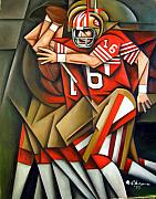 49ers Painting Prints - The Monongahelan Print by Martel Chapman