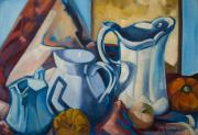 Jugs Prints - The Morning Milk Print by Kadira Jennings
