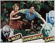 Wray Prints - The Most Dangerous Game, Fay Wray, Joel Print by Everett
