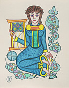 Celtic Knotwork Posters - The Mother Poster by Ian Herriott