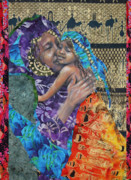 African-american Mixed Media Framed Prints - The Mother Line-Teaching Our Daughters Well Framed Print by Gary Williams