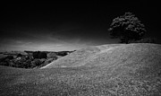 Earthworks Prints - The Mound Of Down Downpatrick County Down Northern Ireland Print by Joe Fox