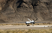 Airfield Prints - The Mq-9 Reaper Print by Stocktrek Images