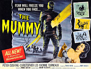 1959 Movies Framed Prints - The Mummy, As The Mummy Christopher Framed Print by Everett
