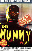 1950s Movies Photo Metal Prints - The Mummy, Austrailian One Sheet Metal Print by Everett