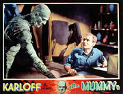 Horror Movies Framed Prints - The Mummy, Boris Karloff, Bramwell Framed Print by Everett