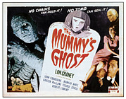 Horror Movies Framed Prints - The Mummys Ghost, Left Lon Chaney Jr Framed Print by Everett