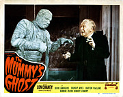 Gauze Posters - The Mummys Ghost, Lon Chaney, Jr Poster by Everett