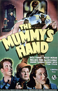 1940 Movies Framed Prints - The Mummys Hand, Tom Tyler, 1940 Framed Print by Everett