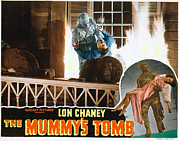 Horror Movies Posters - The Mummys Tomb, Lon Chaney, John Poster by Everett