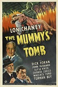 1942 Movies Prints - The Mummys Tomb, Lon Chaney, Jr., 1942 Print by Everett