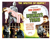 Horror Movies Photos - The Mummys Tomb, Top From Left Elyse by Everett