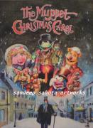 Blockbuster Art - The Muppet Christmas Carol by Sandeep Kumar Sahota