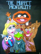 Muppets Prints - The Muppet Mentality Print by Amanda Sparrow