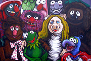 Miss Piggy Prints - The Muppets Tribute Print by Sam Hane