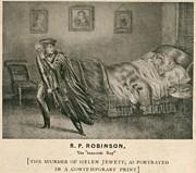 The Murder Of Helen Jewett In 1836 Print by Everett