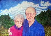 Couple Mixed Media - The Murrells by Edward Ruth