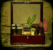 Music Time Metal Prints - The Music Box Metal Print by Bill Cannon