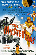 Classic Sf Posters Framed Prints - The Mysterians, 1959 Framed Print by Everett