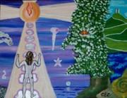 Hammer Paintings - The Mystics Journey by Carolyn Cable