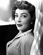 1950s Portraits Photo Metal Prints - The Narrow Margin, Marie Windsor, 1952 Metal Print by Everett