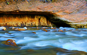 The Narrows Virgin River Print by Bob Christopher