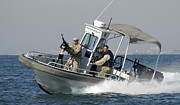 Escort Photos - The Navy Harbor Patrol Boat by Stocktrek Images