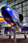 Hdr Art - The Navys Blue Angel by David Patterson