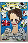Navy Pastels - The Neverended Fight For Liberty Of Lt. Rupert Brooke by Francesco Martin