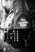 Mathew Photos - The New Cavern Club In Mathew Street In Liverpool City Centre Birthplace Of The Beatles by Joe Fox