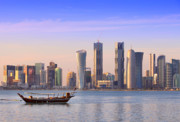 Qatar Framed Prints - The new Doha Framed Print by Paul Cowan