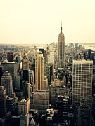 New York City Photos - The New York City Skyline by Vivienne Gucwa