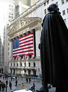 New York Stock Exchange Prints - The New York Stock Exchange Print by RicardMN Photography