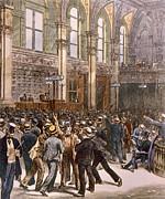 The New York Stock Exhange Print by Everett