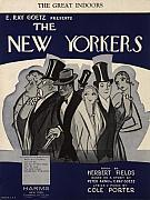 High Society Painting Posters - The New Yorkers Poster by Unknown