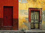 Portal Framed Prints - The Next Door Framed Print by Olden Mexico
