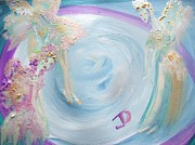 Planet System Paintings - The Nice by Judith Desrosiers