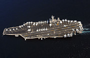 Supercarrier Prints - The Nimitz-class Aircraft Carrier Uss Print by Stocktrek Images