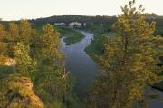 Featured Art - The Niobrara River At Sunrise by Joel Sartore
