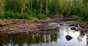 Temperance River Photos - The North Woods by Steve Stuller