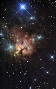 1579 Framed Prints - The Northern Trifid Nebula Framed Print by R Jay GaBany