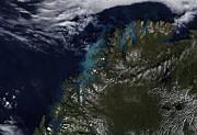 The Norwegian Sea Print by Stocktrek Images