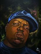 Notorious B.i.g Painting Originals - The Notorious B.I.G. by Pierre Etienne