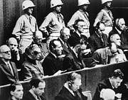Trial Art - The Nuremberg Trials, 1945-1946 by Everett