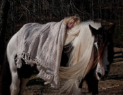 Storybook Prints - The Nurturing Mare Print by Terry Kirkland Cook